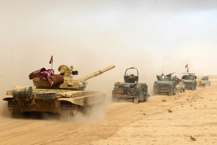 Fight Against ISIS: Siege of Mosul Begins