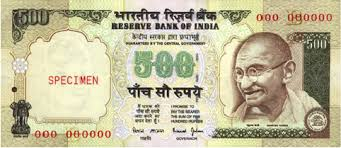 India Scraps the 500 and 1,000 Rupee Notes
