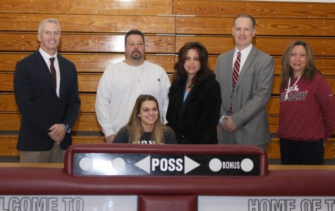 WHHS Athletes Sign With Colleges