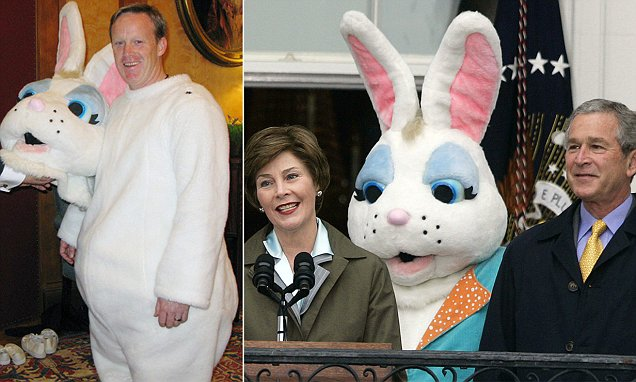 Happy Easter from Sean Spicer (The Easter Bunny)