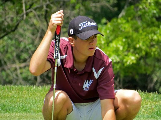 Robert McHugh is a stand out on the Hills Golf Team.