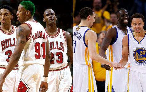Who is Better? 95-96 Chicago Bulls vs. 16-17 Golden State Warriors