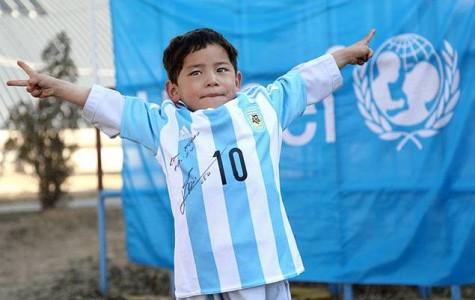 Afghan Boy's Dreams Come True