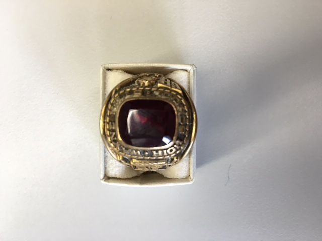 This ring from the Class of 1968 bears the initials KJH.  The Patriot Press is searching for its rightful owner.