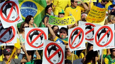 Brazil's President Suspended