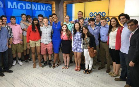 Patriot Press & TV Students Visit ABC, NBC, and FOX Studios