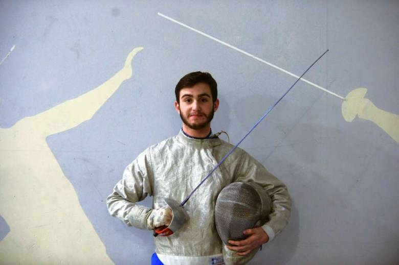 Dawson+Sieradzky%2C+pictured+here%2C+is+one+of+the+best+high+school+fencers+in+the+country.