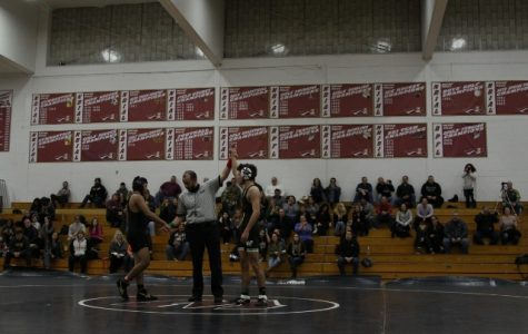 WHHS wrestlers' record stands at  2-5.