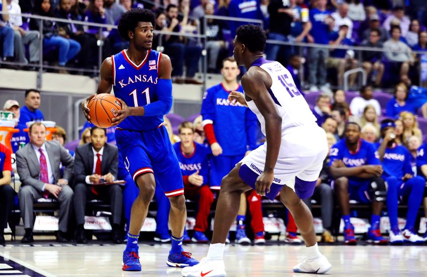 Josh+Jackson+%28Number+11%29%2C+is+coming+off+of+an+injury%2C+but+hopes+to+make+a+large+impact+for+number+one+seed+Kansas.