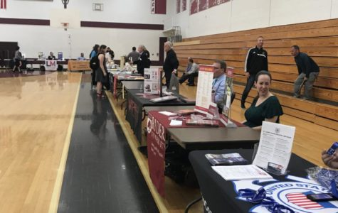 Career Fair Comes to Hills