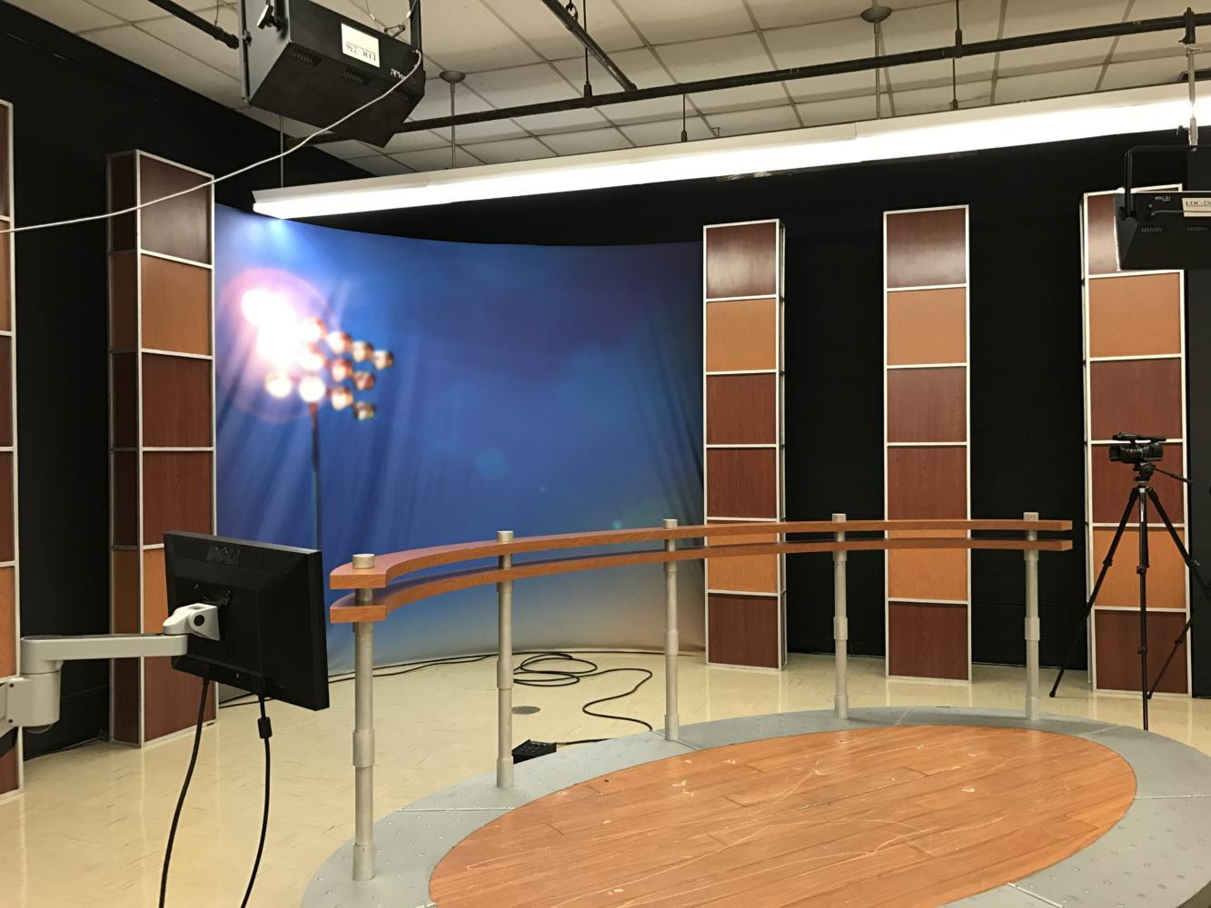 Our TV Studio gets a face lift.  Check it out this Thursday during morning announcements in homeroom.