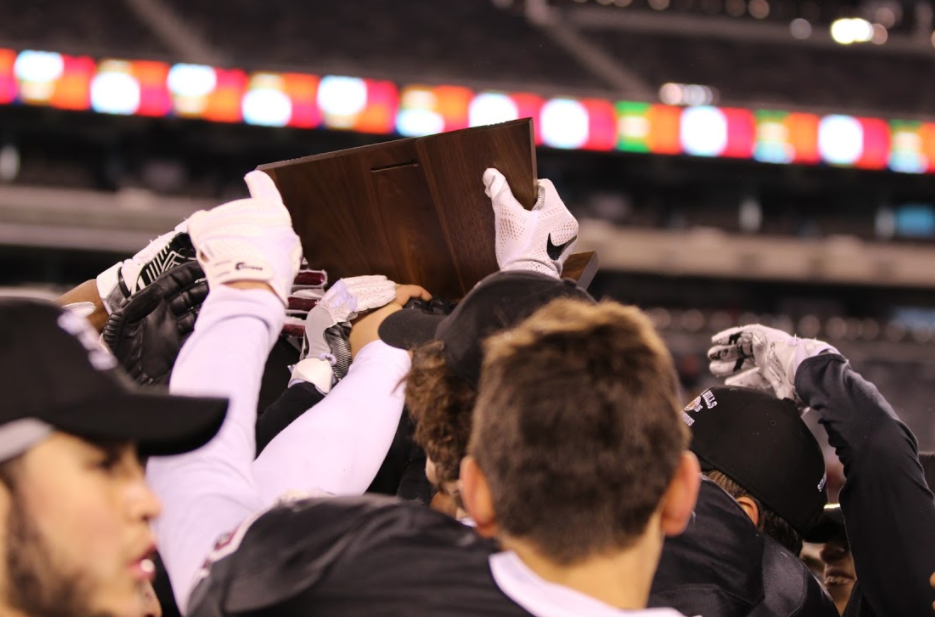 The Wayne Hills Football was the first of many teams to win a title this year.