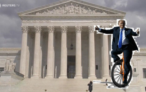 President Trump Makes His Way to the Supreme Court