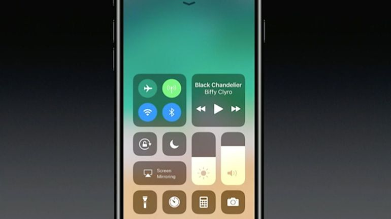 Apple's Brand New iOS11
