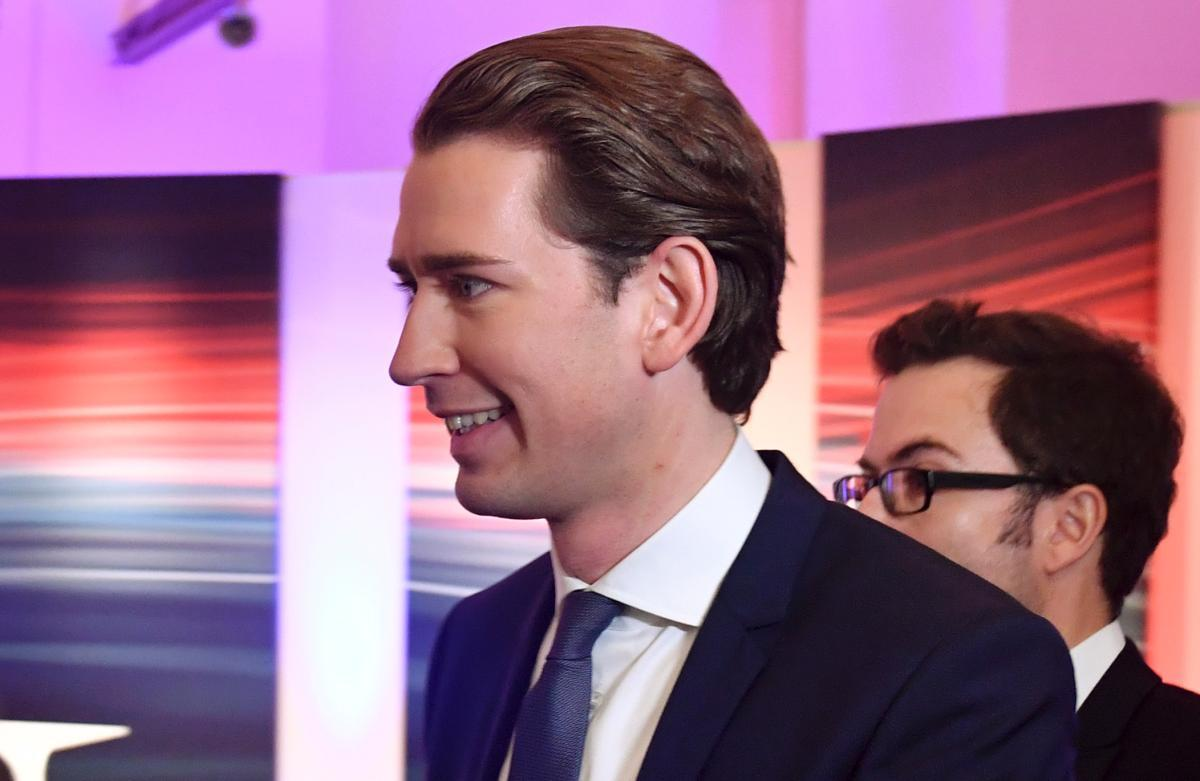 Kurz, incumbent foreign minister, leads the far right People's Party to victory