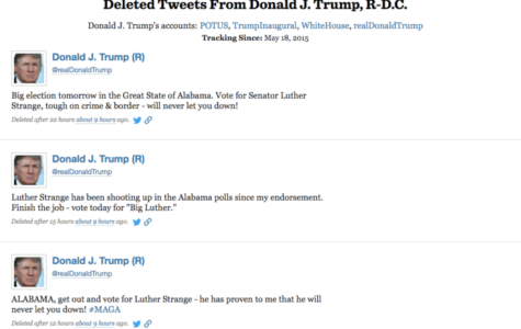 President Trump Deletes Tweets Supporting Senator Strange
