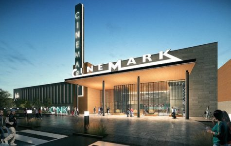 A mock up photo of the new Cinemark Cinema coming to Wayne's Willowbrook Mall in 2019.