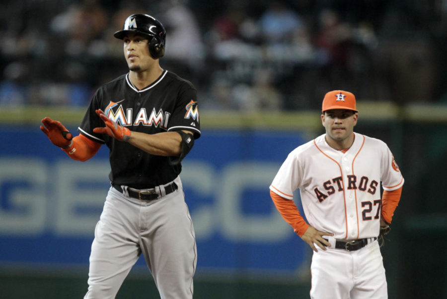 The+two+MVP%27s%2C+Giancarlo+Stanton+%28left%29+and+Jos%C3%A9+Altuve+%28right%29+next+to+each+other.
