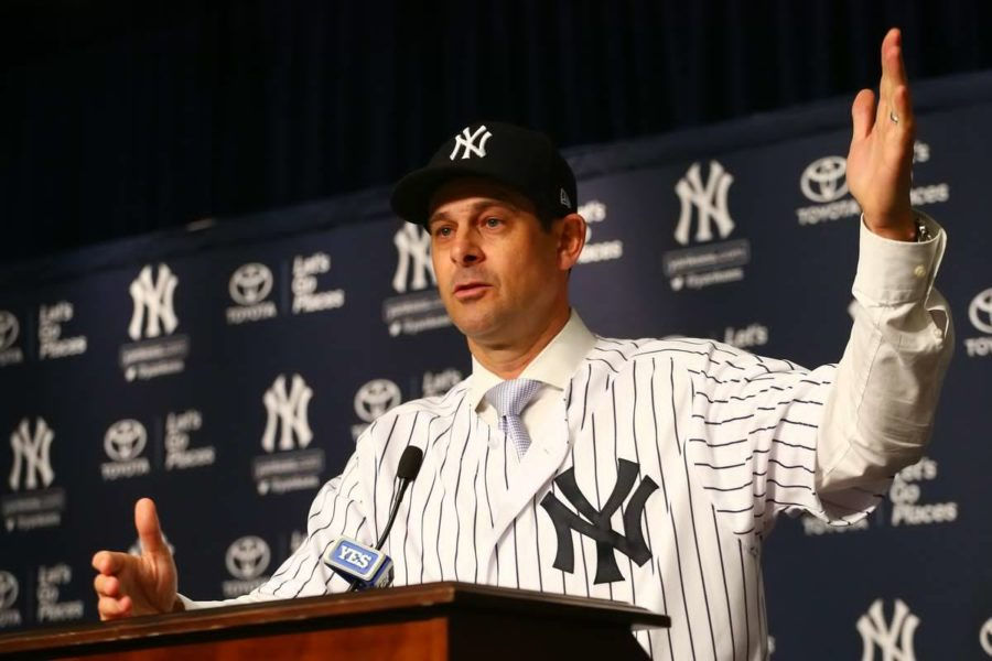 Aaron+Boone+Hired+as+New+Manager+of+Yankees