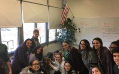 Sarge The Dog Visits Hills Classes