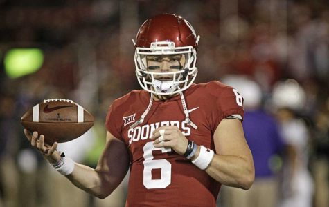 Baker Mayfield Brings Heisman Trophy Back to Norman
