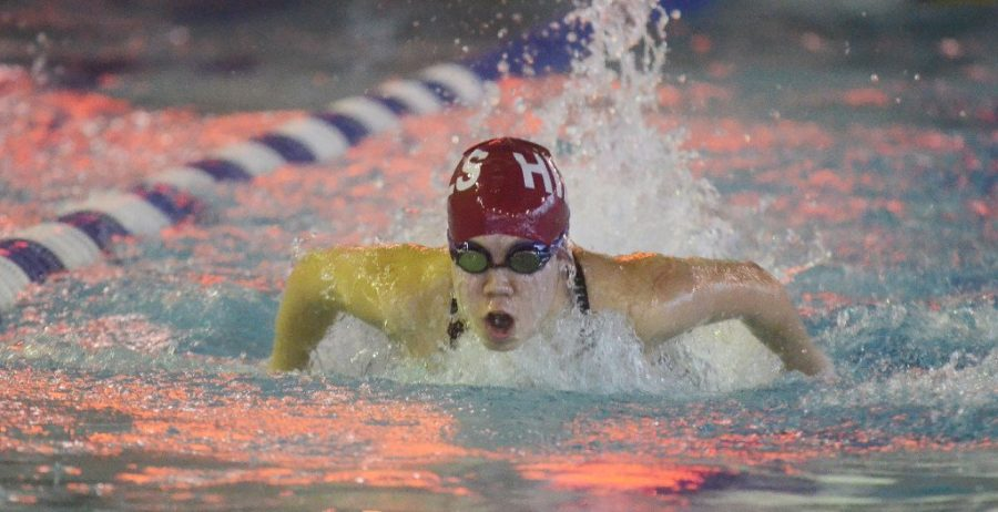 Swim Team Goes to Counties; Cassandra Lee Named Female Athlete of the Week