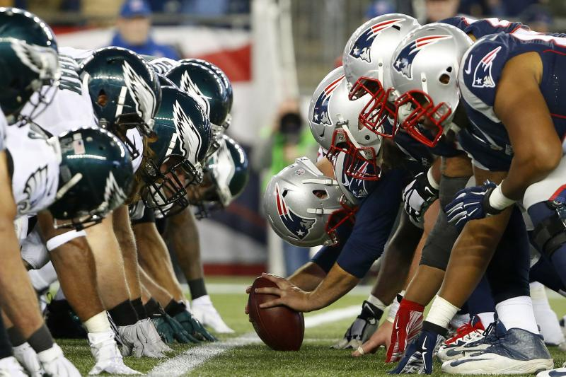 The New England Patriots and the Philadelphia Eagles face off in this year's Super Bowl.