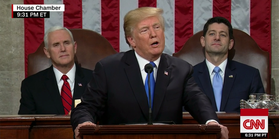 President Trump Delivers First State of the Union Address