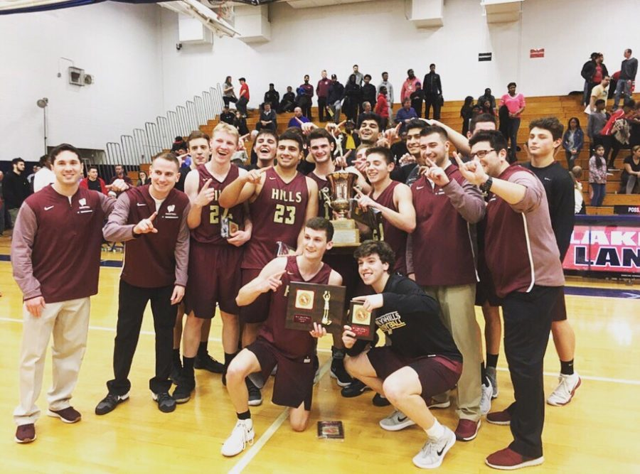 Boys Basketball Wins First County Title