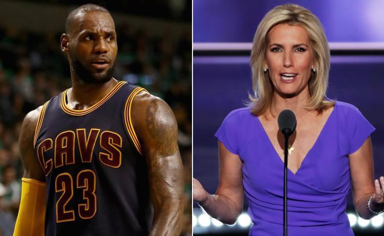 Laura Ingraham told LeBron James to