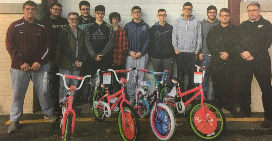 Wayne Auto Students Build Bikes For Charity