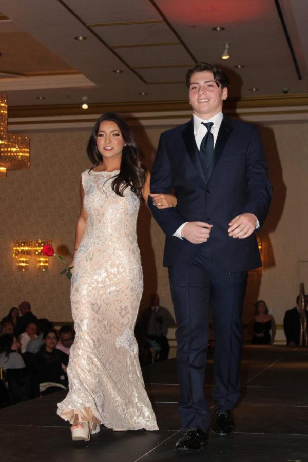 Ashley Serventi and Nick Alechammas