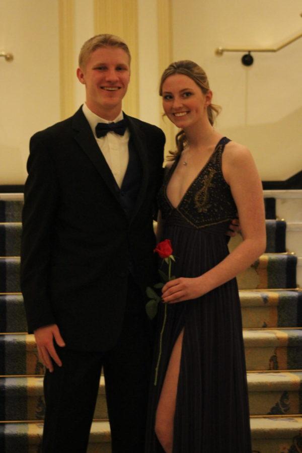 Patrick Gilmore and Maddy Flynn