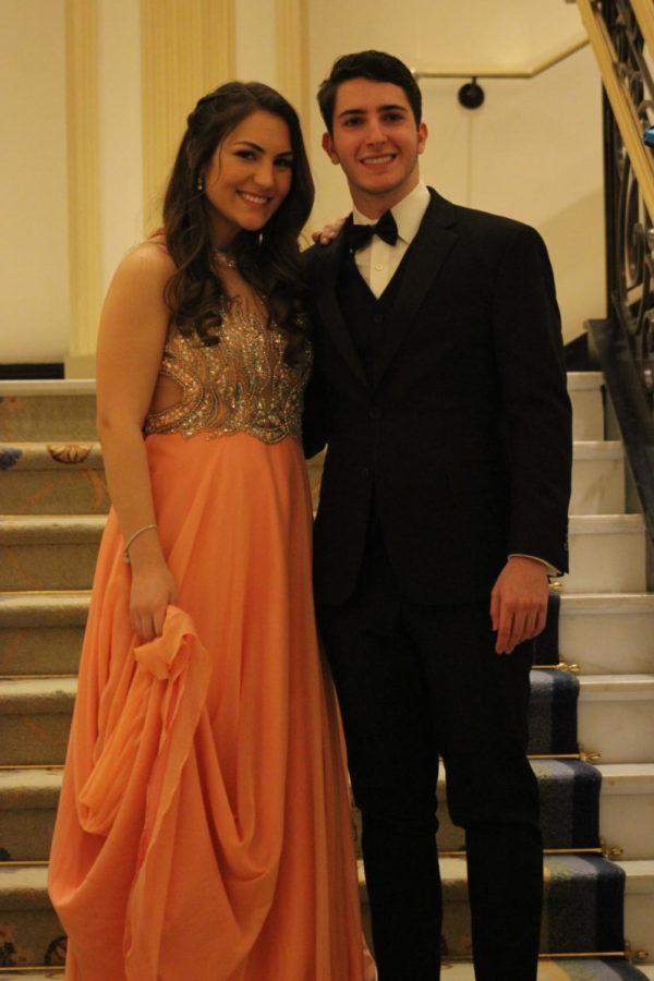 Ashley Adamo and Sam Reyzelman