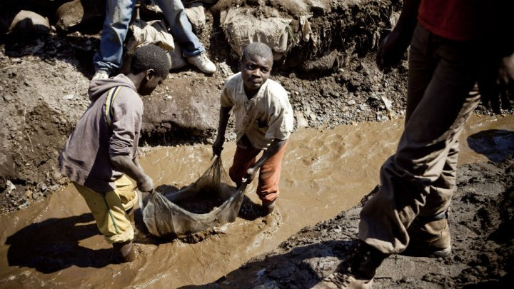 Child Labor is at Large in the Congo