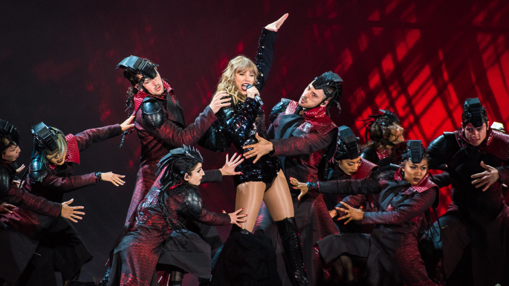 Taylor Swift Performs at Levi's Stadium in Santa Clara, California on May 11, 2018. (Photo by Chris Tuite)