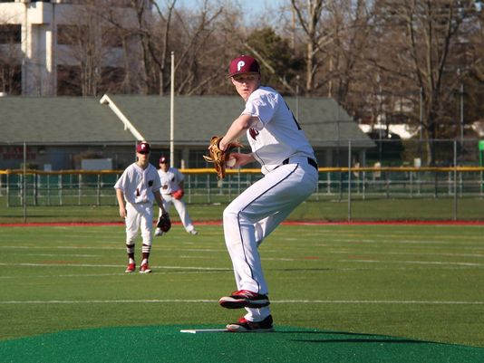 Patrick Gilmore is one of the many star athletes that the Patriots have during the Spring.