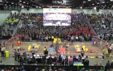 Patriots Robotics Team Competes in World Robotics Championship
