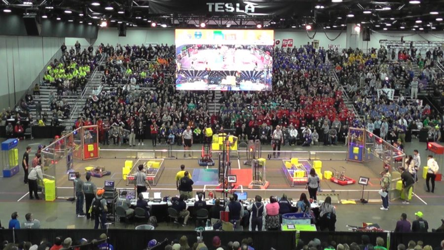 Patriots Robotics Team Competes in World Robotics Championship