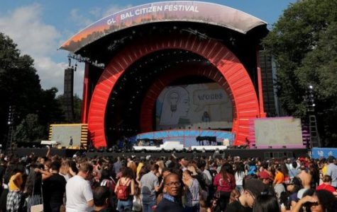 Complete Panic at the Global Citizen Festival