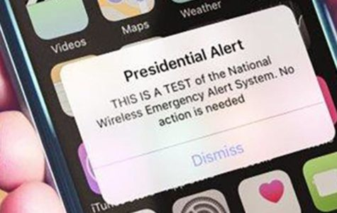 First Presidential Alert Broadcasted
