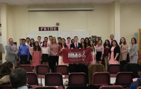 Student Musicians Inducted Into Tri-M Music Honor Society