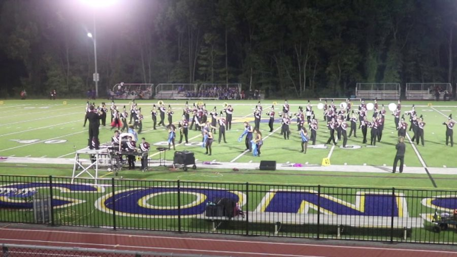 Wayne Hills Marching Band Concludes Competitive Season