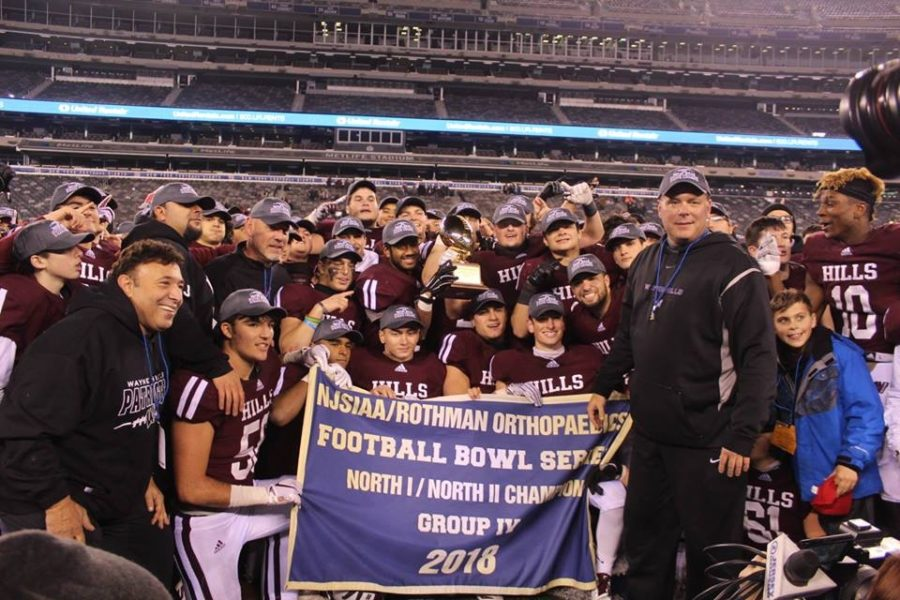 Championship Victory For Wayne Hills at Metlife Stadium