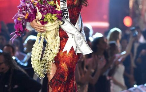 Catriona Gray after crowned as Miss Universe