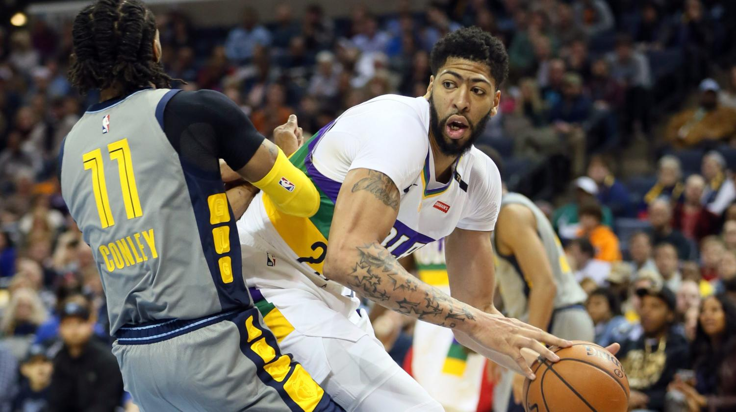 Anthony Davis says he won't play for the Pelicans next year.