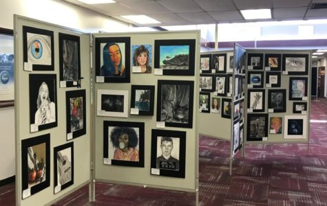 NAHS Art Show to be Held in Hills Library