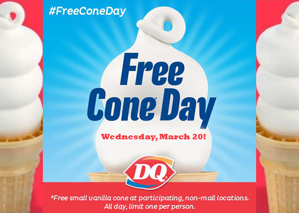 Dairy Queen's Free Cone Day Marks One Year Since Opening