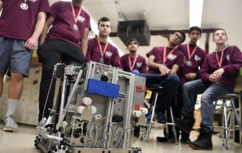 The Robotics Team Takes  a Break
