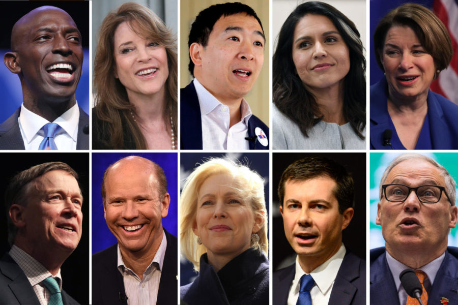 More+Than+20+Hopefuls+Vie+For+Democratic+Presidential+Nomination
